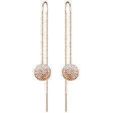 Swarovski 5238110 Fun Chain Pierced Earrings RG, 1cm RRP $149