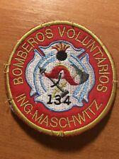 PATCH ARGENTINA FIRE FIREMAN FIREFIGHTER BOMBEROS - ING-MASCHWITZ - ORIGINAL!