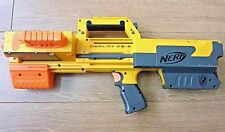 NERF DEPLOY CS-6 Laser Sight Collapsible Toy Gun with Magazine
