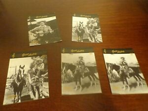 Vintage GENE AUTRY Academy Of Country Music Trading Card Lot of 5 Collect-A-Card