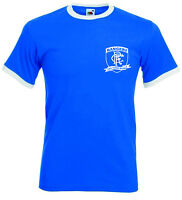 Rangers FC Teddy Bears Retro Football Club T-shirt.Bluenoses. Glasgow, Scotland