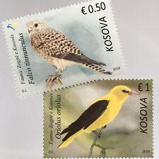 Kosovo 2018 Neuheit Vögel im Kosovo Falke Pirol Singvogel Fauna Ornithologie