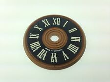 "Wood Cuckoo Clock Dial 2 3/8"" Made in Germany"