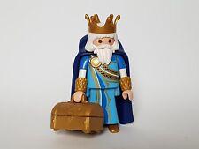 Playmobil Noël Rois Mages Mages,Roi Melchor avec Accessoires et Coffre Roi Mago