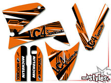 KTM lc4 SXC SM SMC DUKE 620 625 640 660 | 98-07 Factory DECORO DECALS STICKER