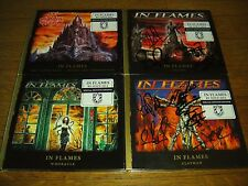 In Flames - clayman + colony CD signed autographed / whoracle + the jester race