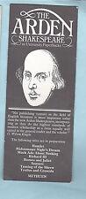 Bookmark William The Arden Shakespeare University Paperbacks Book Gift Him Her