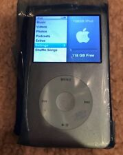 Custom iPod Classic 6th Generation Silver (128Gb Ssd-Cf) - Totally Refurbished