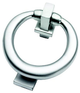 Satin Chrome Ring Style Door Knocker SPECIAL OFFER (SCP28)
