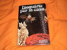 l'acquario per la casa de agostini 1976 illustrato a colori in 8°