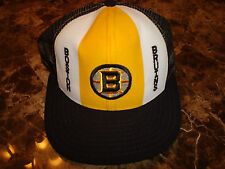 BOSTON BRUINS AJD   DEADSTOCK 90'S HAT CAP VINTAGE SNAPBACK