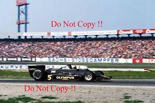 Mario Andretti JPS Lotus 79 German Grand Prix 1978 Photograph 3