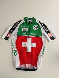 ASSOS MENS CYCLING SWISS JERSEY  SMALL MINT CONDITION