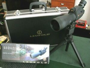Leupold Sequoia Green Ring Variable 15-45 x 60mm Spotting Scope - Complete Kit