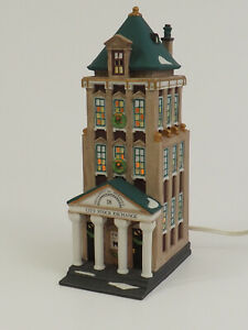 """Dept 56 Christmas in the City """"BROKERAGE HOUSE"""" 5881-5 /c"""