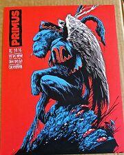 Primus Mini-Concert Poster Reprint 2016 San Diego CA 14x10 Unsigned