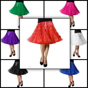 Petticoat Voluminös Mehrlagig hochwertiger Tüll Rock für Karneval und Kostüme