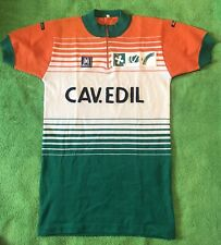 SMS Santini CAD.EVIL wool & acrylic cycling jersey size 4