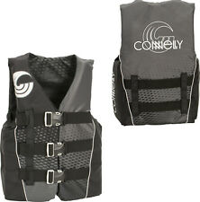 Connelly Teen NYLON Teen Wakeboard/Ski Vest Size 90-120lbs. Black Grey NEW