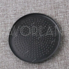 Black Rubber Mat Pad of Cup Holder (90mm)For VW Cars-Golf Mk5 Mk6 2004-2013