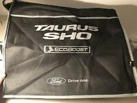 Rare Ford Taurus Backpack Bag - Blue and White Ford Drive On