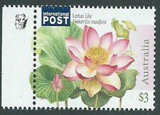 2017 $3.00 'Lotus Lily Water Plant' IP 1 Koala Reprint Left Selve Edge Stamp