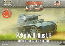 Pz.Kpfw. III Ausf.E, First To Fight, 1/72 Plastikmodellbausatz ,NEU,