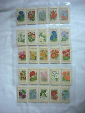 More details for wix kensitas tobacco silk small flowers & covers  - 25 cards.