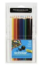 Prismacolor Scholar 12 Colored Pencils Brand New Fast Free Shipping