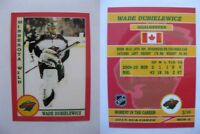 2015 SCA Wade Dubielewicz rare Minnesota Wild goalie never issued produced #d/10