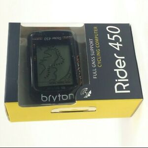 Bryton Rider 450T GPS Cycling Computer BLE Speed / Cadence / F-Mount