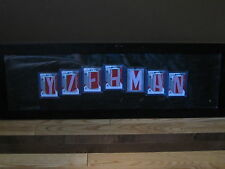 "2010 Upper Deck SP Game Used Yzerman Name Plate Cards 1/1's , 1 ITG ""M"""