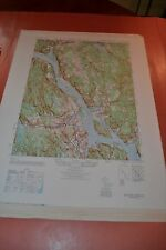 1940's Army (like USGS) topographic map Deep River Connecticut -Sheet 6566 IV NW