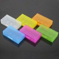 5Pcs Hard Plastic Clear Case Cover Holder AA/AAA Battery Storage Box Hot Sale RF