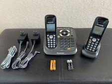 Panasonic KX-TG6581 Wireless Phone - Base + 2 Handsets - Bluetooth 6.0 Plus