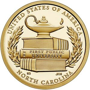 2021 (S) American Innovations Mint Proof NORTH CAROLINA (1) COIN PRE-SALE