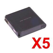 Lot Of 5 Oem Htc Touch Pro Diamond Victor Fuze Battery Btr6850 Btr6850B (A-Stock