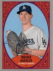2019 Heritage New Age Performers #NAP-25 Walker Buehler - Los Angeles Dodgers