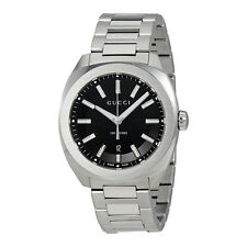 Gucci GG2570 Black Dial Mens Watch YA142301
