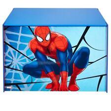 Marvel Spider-Man Kids Toy Box - Childrens Bedroom Storage Chest with Bench...