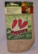 Brand New Vintage 10 Gallon Grow Bag with Pepper Print #84382