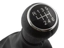 GEAR SHIFT KNOB GAITER CHROME RING - 6 SPEED FOR VW PASSAT B5 96-00