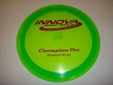 Disc Golf Innova Pfn Champion Orc Distance Driver Oop Pat # 163g Green