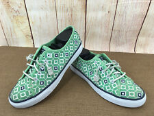 Women's Size 7M Sperry Top Sider SEACOAST GEO PRINT Fashion Sneakers Mint P13(5)