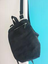 Mandarina Duck Black Backpack PVC Nylon