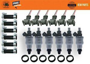 380cc Nissan Datsun 280z 280zx L28 300zx Z31 Turbo Fuel Injectors Genuine Bosch!
