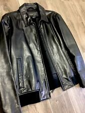 Banana Republic Leather Jacket Men's XL