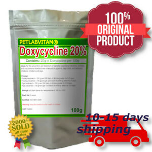 Doxy 20% Powder for Pigeons Chickens & Cage Birds & Pigs