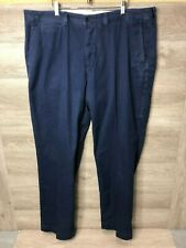 Polo Ralph Lauren Mens 40x32 Navy Flat Front Chino Pants NWOT
