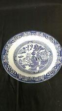 "Royal Cuthbertson Blue Willow China 12""  Serving/chop Platter"